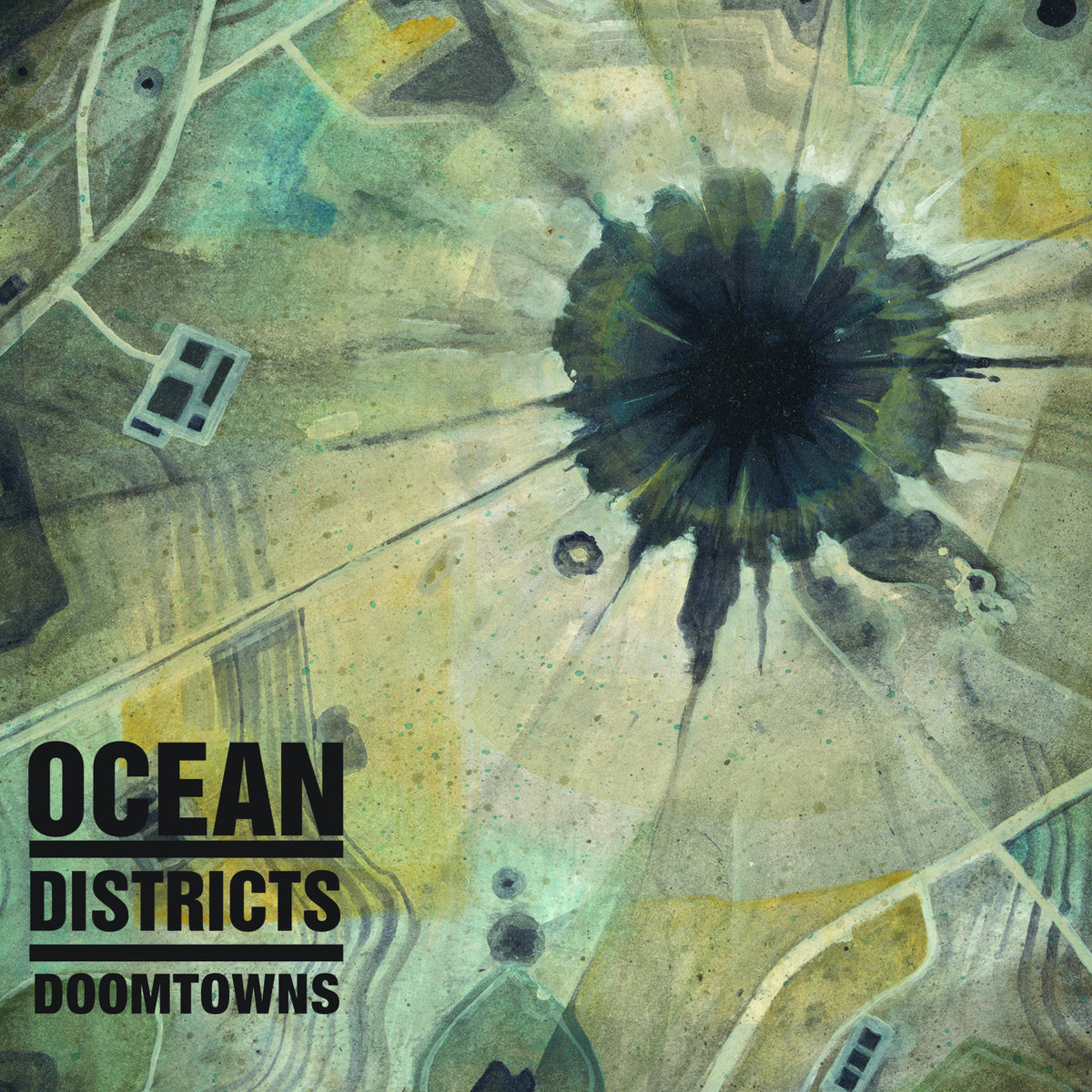 OCEAN DISTRICTSDoomtowns - 12 October 2018Post-rock, Post-metal, Prog rock