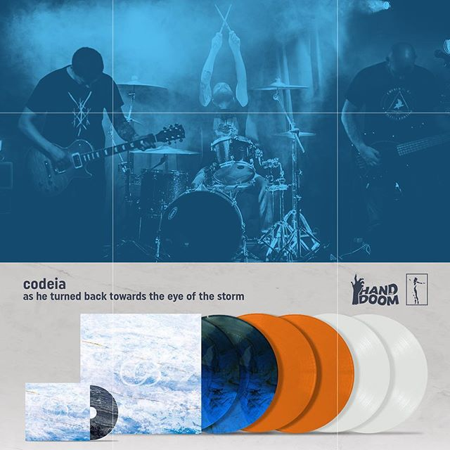 "Upcoming | codeia - as he turned back towards the eye of the storm  Out Apr 13th – Preorder links are available below – FFO Neurosis, Isis, Cult of Luna, Year of No Light, Rosetta, If These Trees Could Talk ... German ambient metal/post-metal trio @codeia_band's new album, titled ""as he turned back towards the eye of the storm,"" will be out April 13th. You can hear a preview of the album and the band's sound via the official videos for track 4, ""medallion"": [1] youtube.com/watch?v=CGEfRCSiHSU [2] youtube.com/watch?v=8BuSI60Em0w ... Pre-orders for physical copies can be made through Hand Of Doom Records & Narshardaa Records and digital pre-orders can be found on codeia's Bandcamp page: [1] codeia.bandcamp.com [2] handofdoomentertainment.bigcartel.com [3] narshardaa.bigcartel.com/product/codeia-as-he-turned-back-towards-the-eye-of-the-storm-2xlp-pre-order ... More from codeia: Bc - codeia.bandcamp.com Fb - facebook.com/codeiaband Ig - instagram.com/codeia_band Spotify - spoti.fi/2TXqHte"