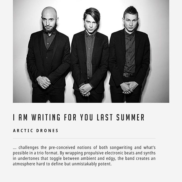"@iwfyls is listed as one of the eclectic instrumental bands to watch out for at SXSW 2019 in the @arcticdrones feature: ""Occupying the peculiar and unpopulated territory between electronic music, synthwave, ambient and post-rock, I am waiting for you last summer challenges the pre-conceived notions of both songwriting and what's possible in a trio format. By wrapping propulsive electronic beats and synths in undertones that together between ambient and edgy, the band creates an atmosphere hard to define but unmistakenly potent."" _ READ HERE arcticdrones.com/staff-picks/eclectic-instrumental-bands-at-sxsw-2019"