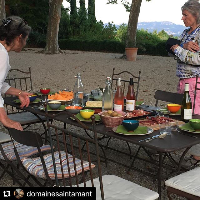 #repost Une Provence bien colorée. A colourful Provence #rhonevalley #cairanne #lifestyle #countrylife #provence