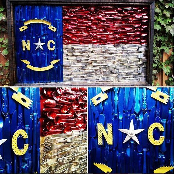 NC Silverware Flag