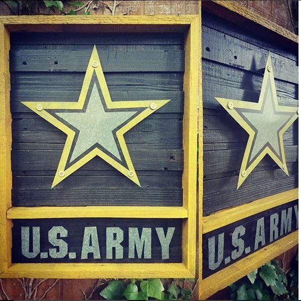 Army Placard