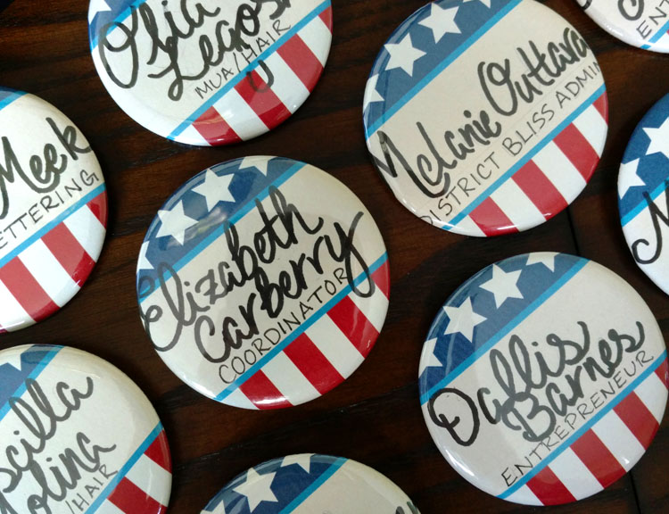 Meekly-Yours-Hand-Lettered-Button-Nametags-For-District-Bliss-DC-Vendor-Social.jpg