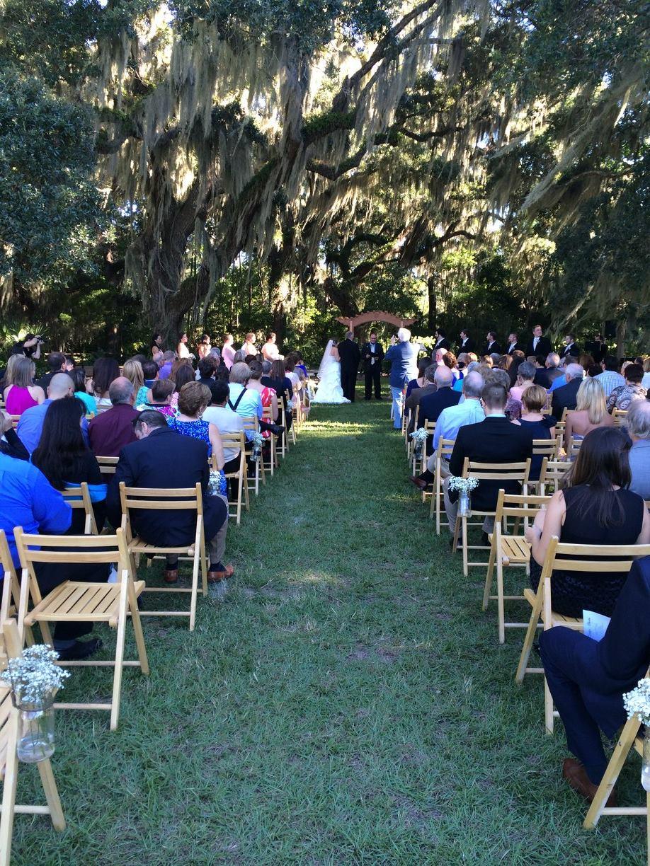 Televised wedding in Napa Valley, CA