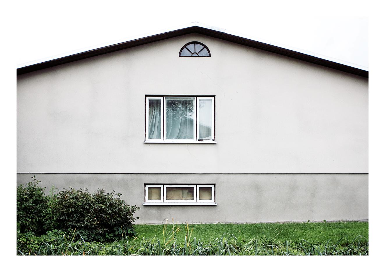 Üks rida aknaid