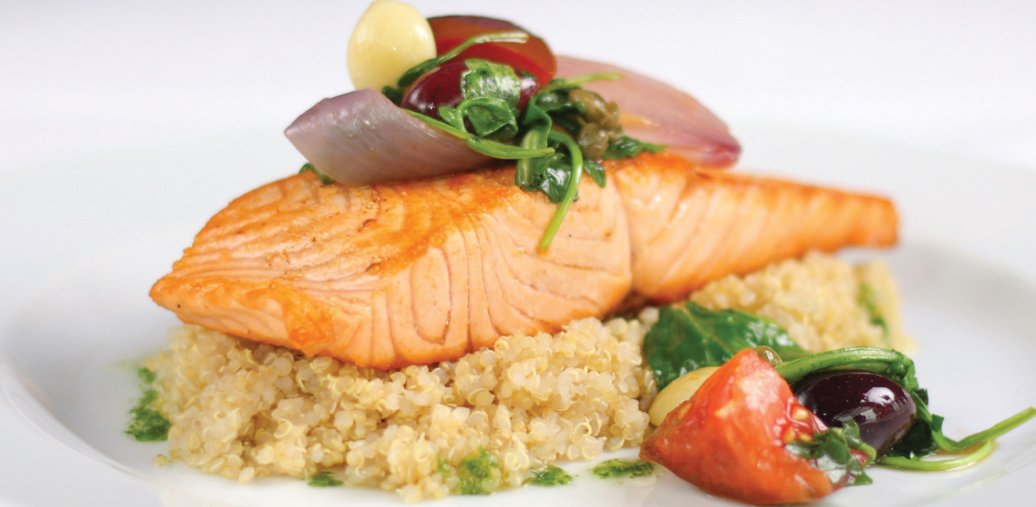 Natural and Delicious Salmon