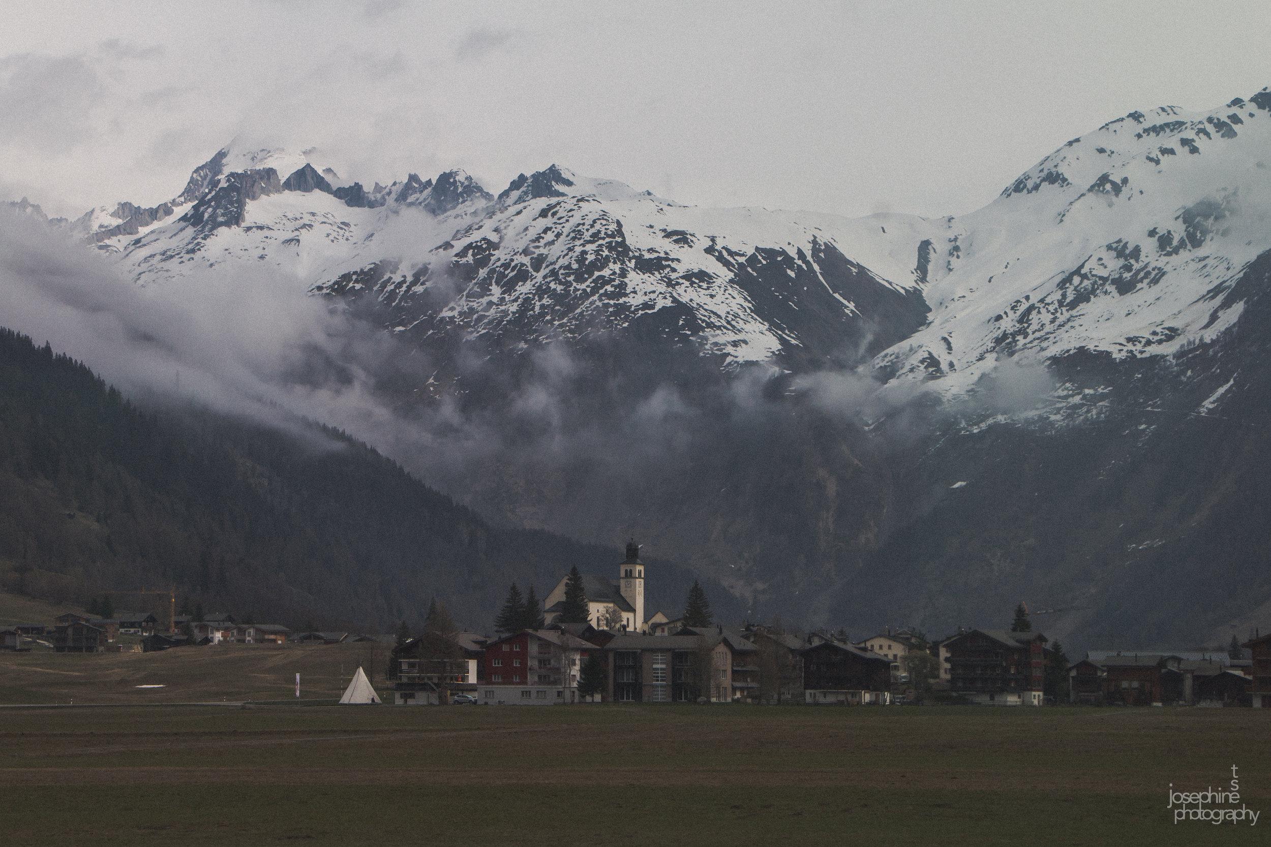Glacier Express  Zermatt to St. Moritz, Switzerland, 04/17