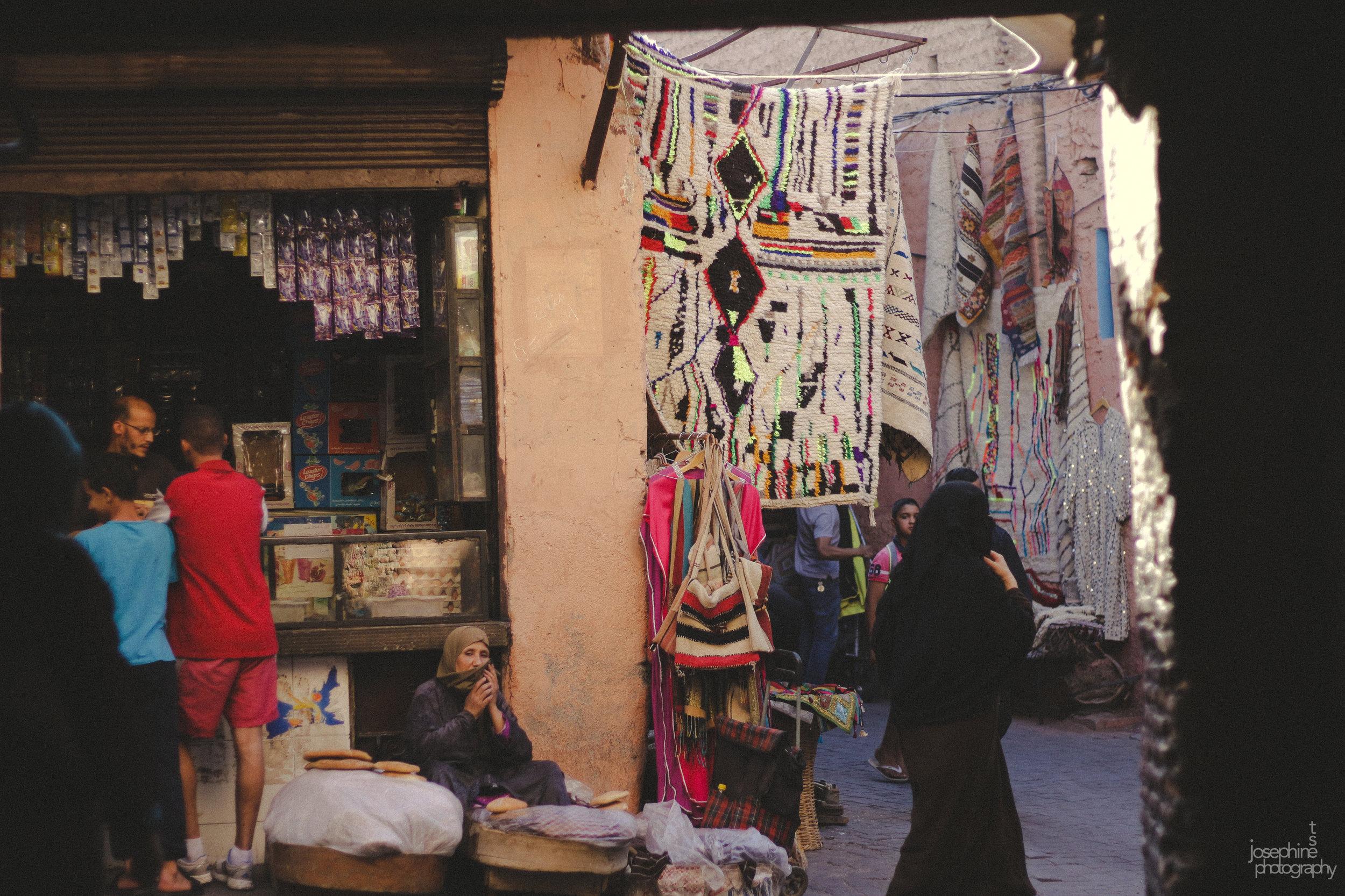 Life in the Medina  Marrakech, Morocco, 06/17