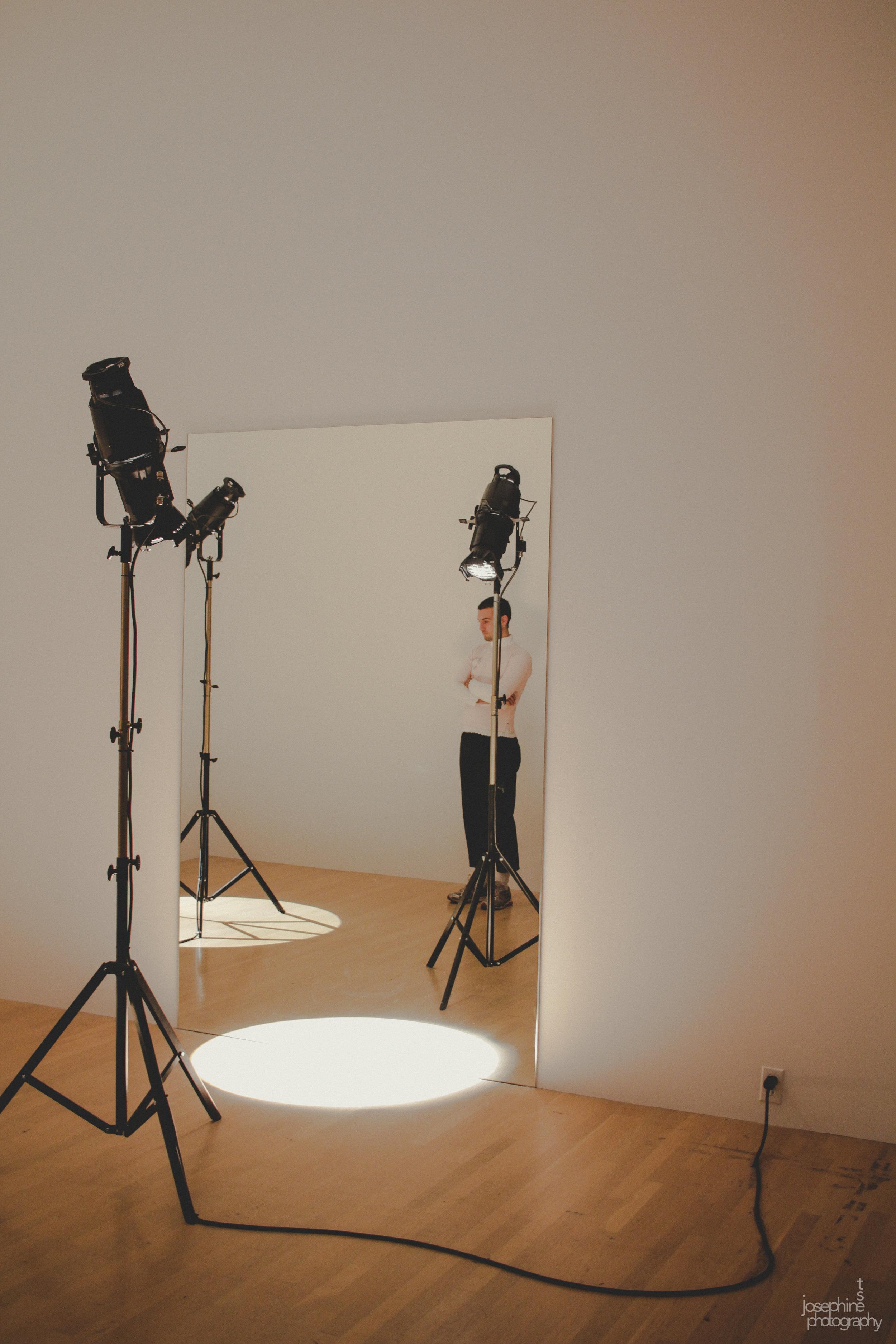 Studio Olafur Eliasson Exhibit at the MAC Musée d'art contemporain de Montréal  Montréal, QC, 09/17