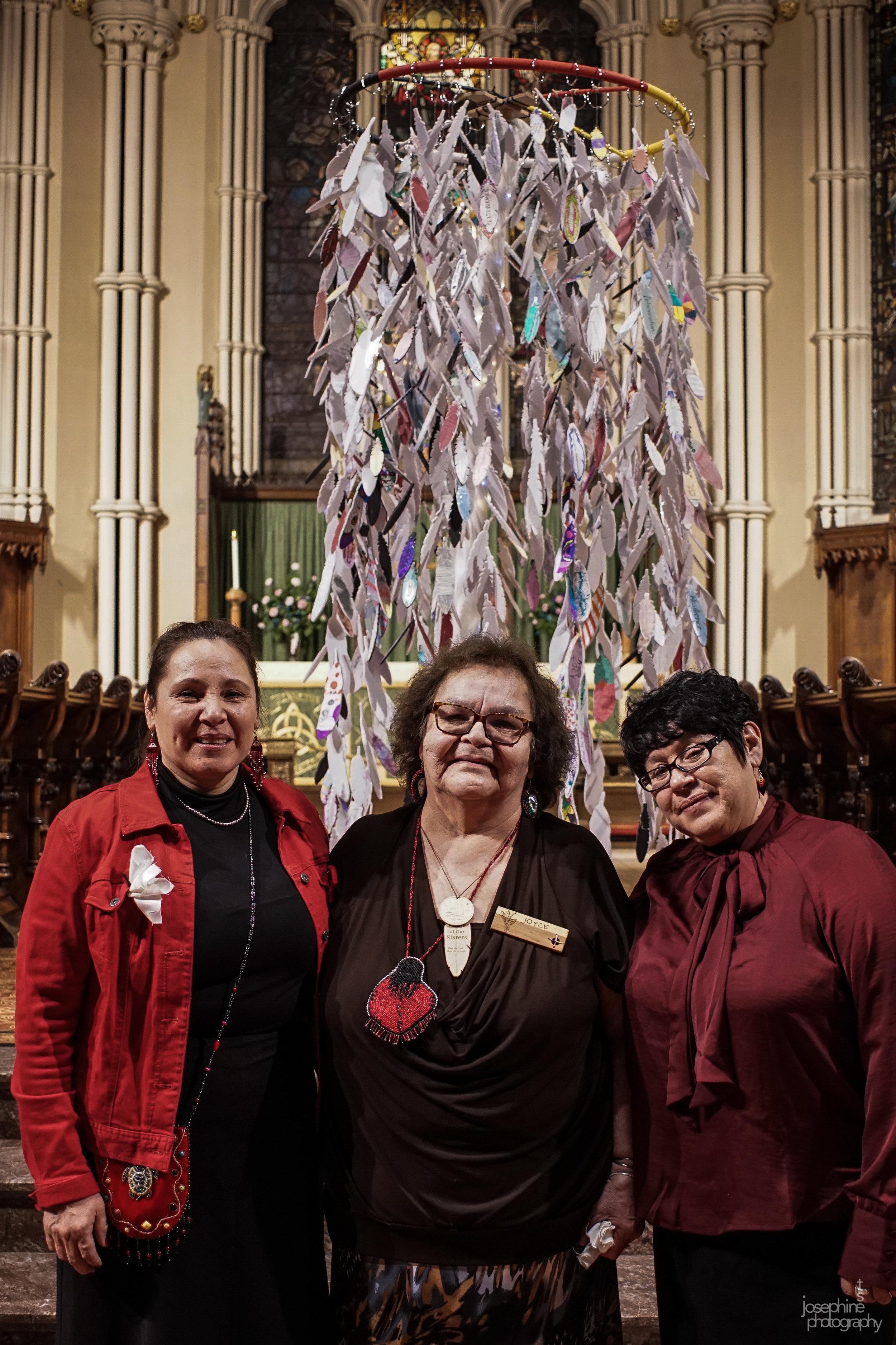 Mag, Joyce & Linda