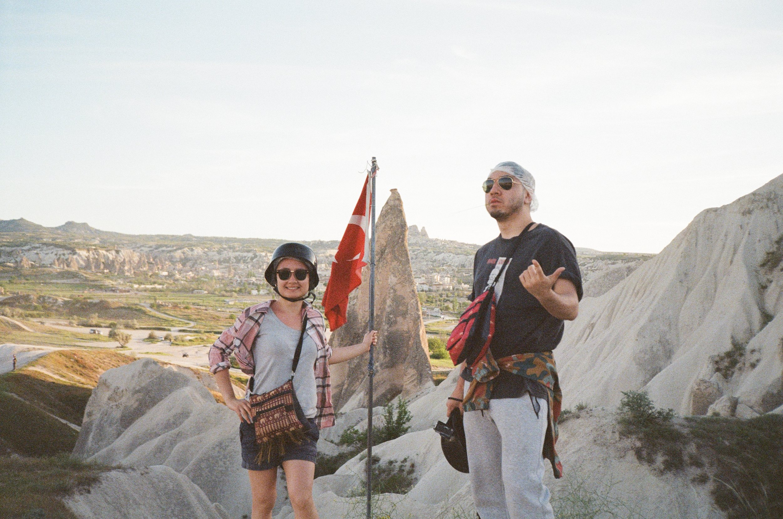 Monika and Michael in 35mm, Cappadocia