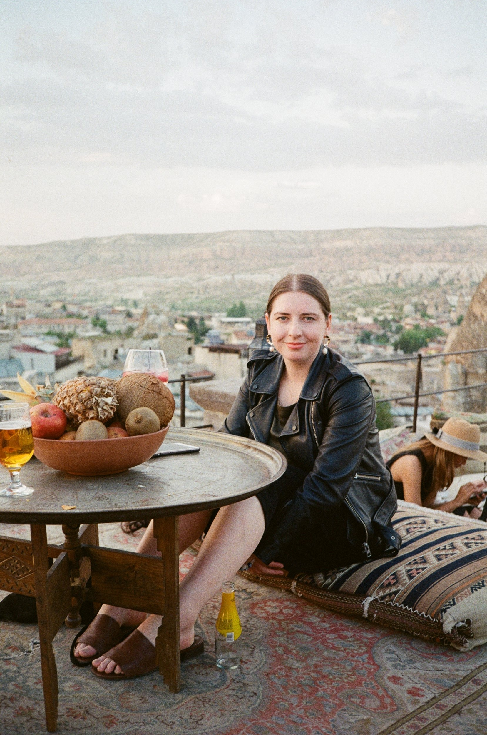 Victoria (we met on our tour in Cappadocia) in 35mm