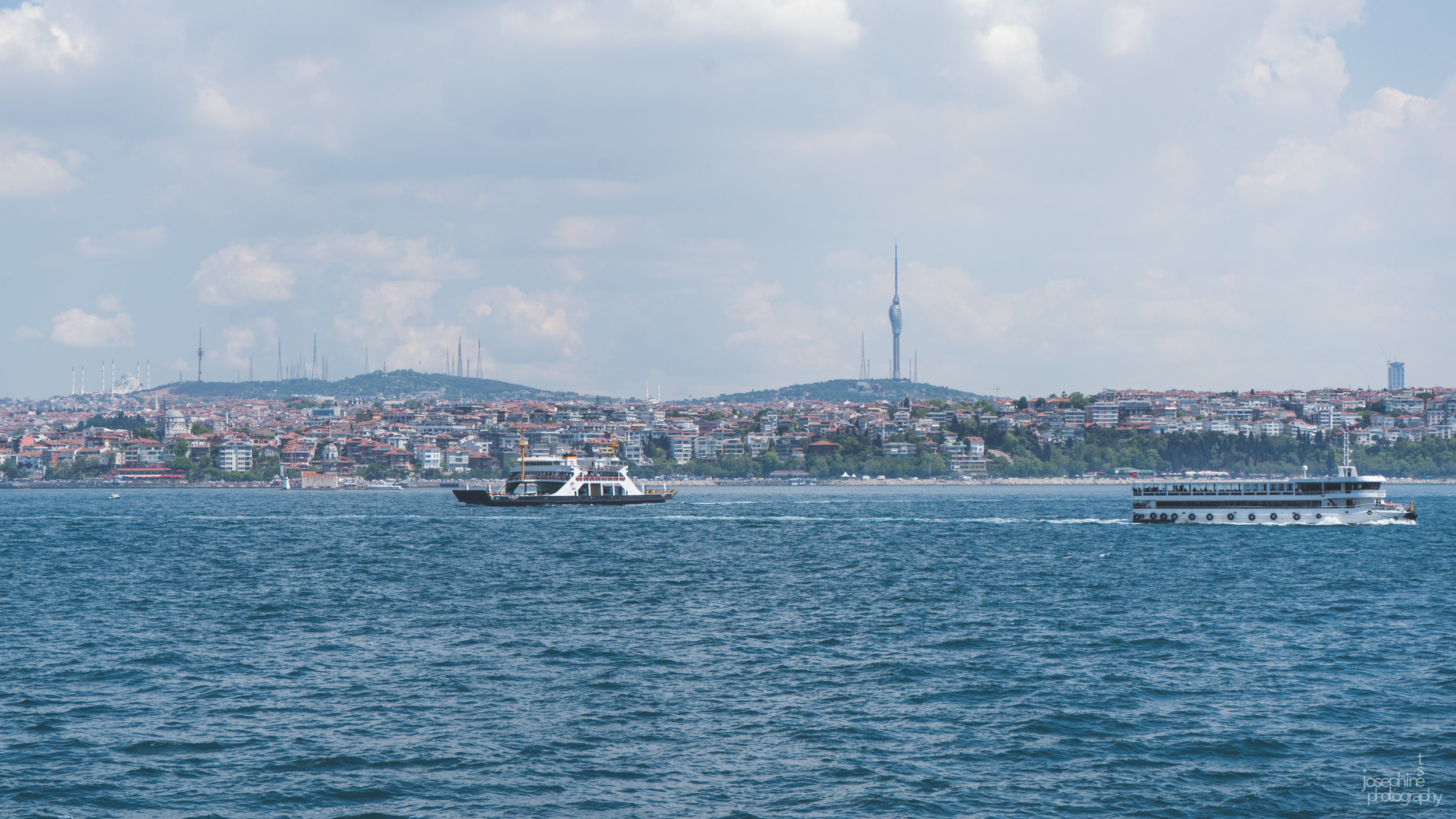 Ferry ride between Karikoy and Kadikoy
