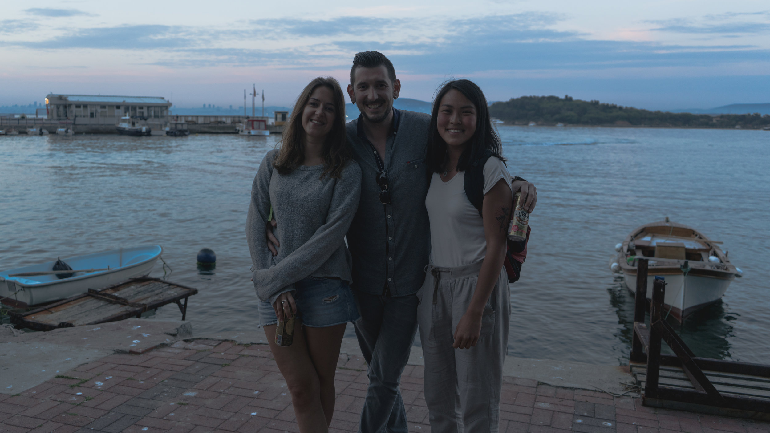 My CS host Ekin and her boyfriend- thankful they were able to host me during my last few days in Istanbul and bring me around local spots.