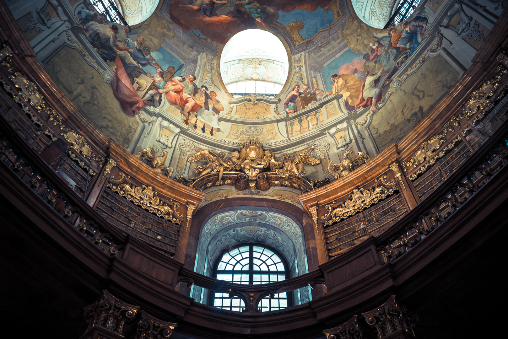 Nationalbibliotek, Vienna, Austria