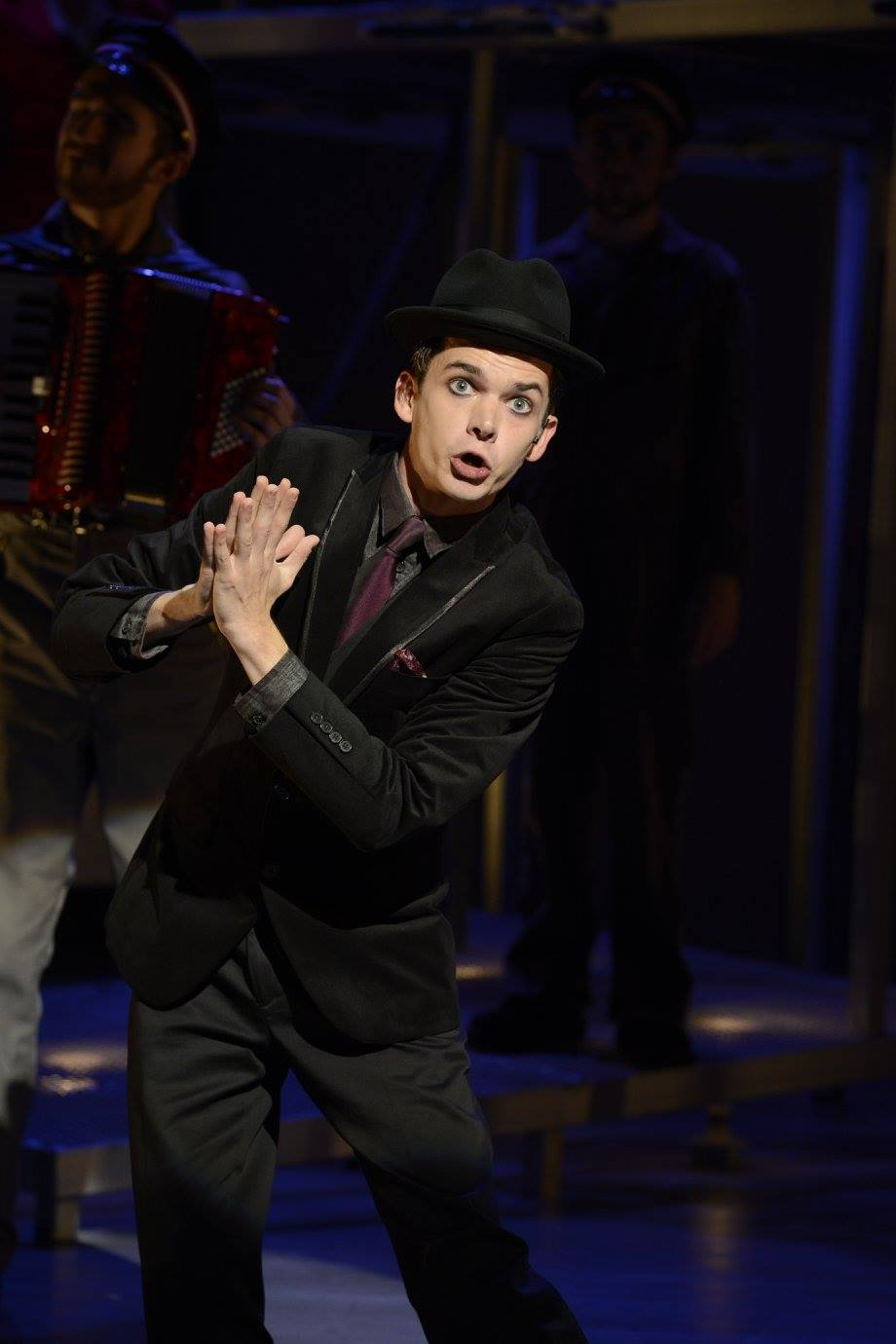 """The Street Singer in """"The Threepenny Opera"""""""