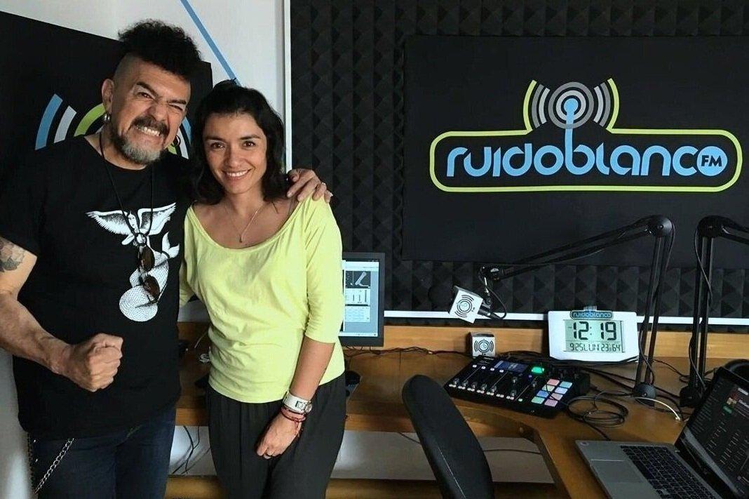 Sergio Arau con Olivia Luna / Cabina  Ruido Blanco