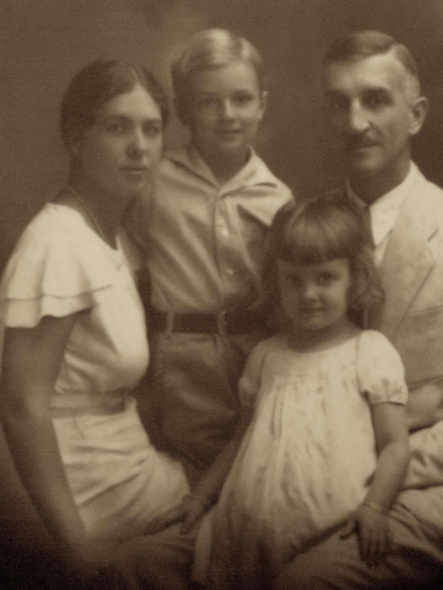 Lala, Conrad, Nancy & James Hall