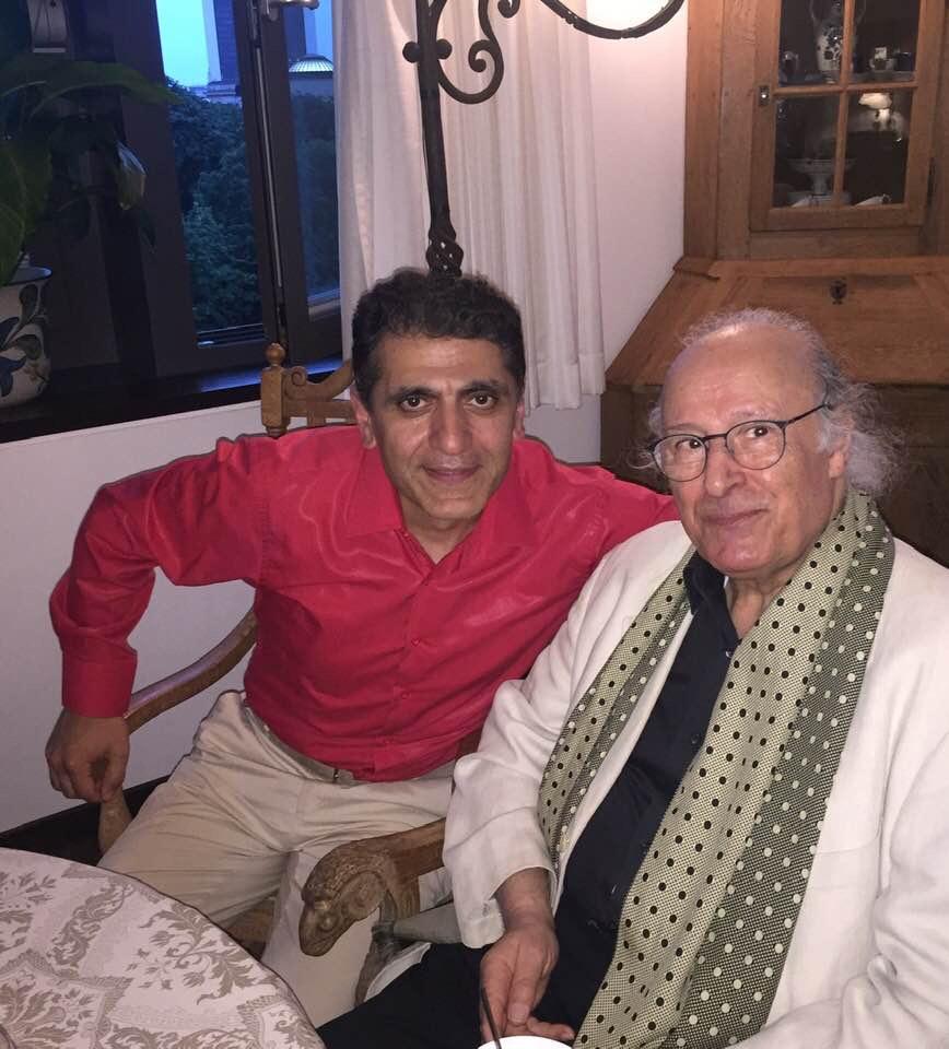 With Maestro Eliahu Inbal, Berlin, June 2019