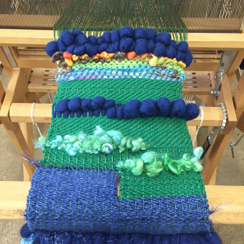 Weaving with Cynthia Alberto