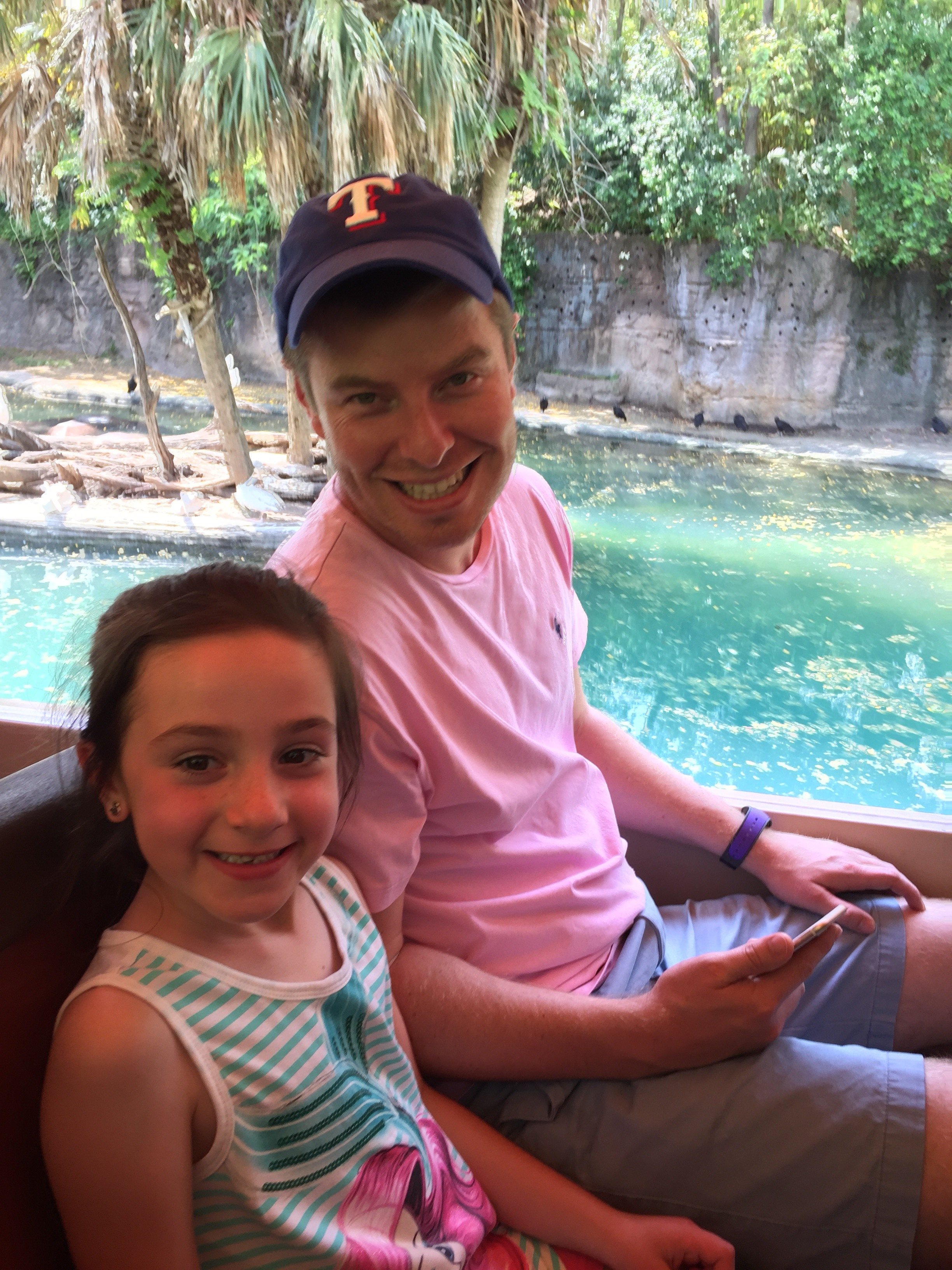 The Roo (My daughter) & her Uncle enjoying the Safari!