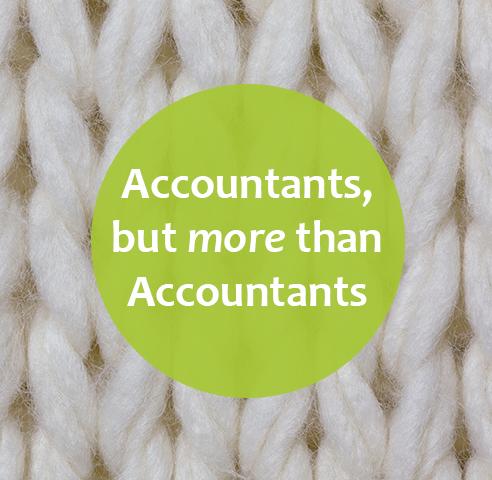 Knitting image- more than accountants