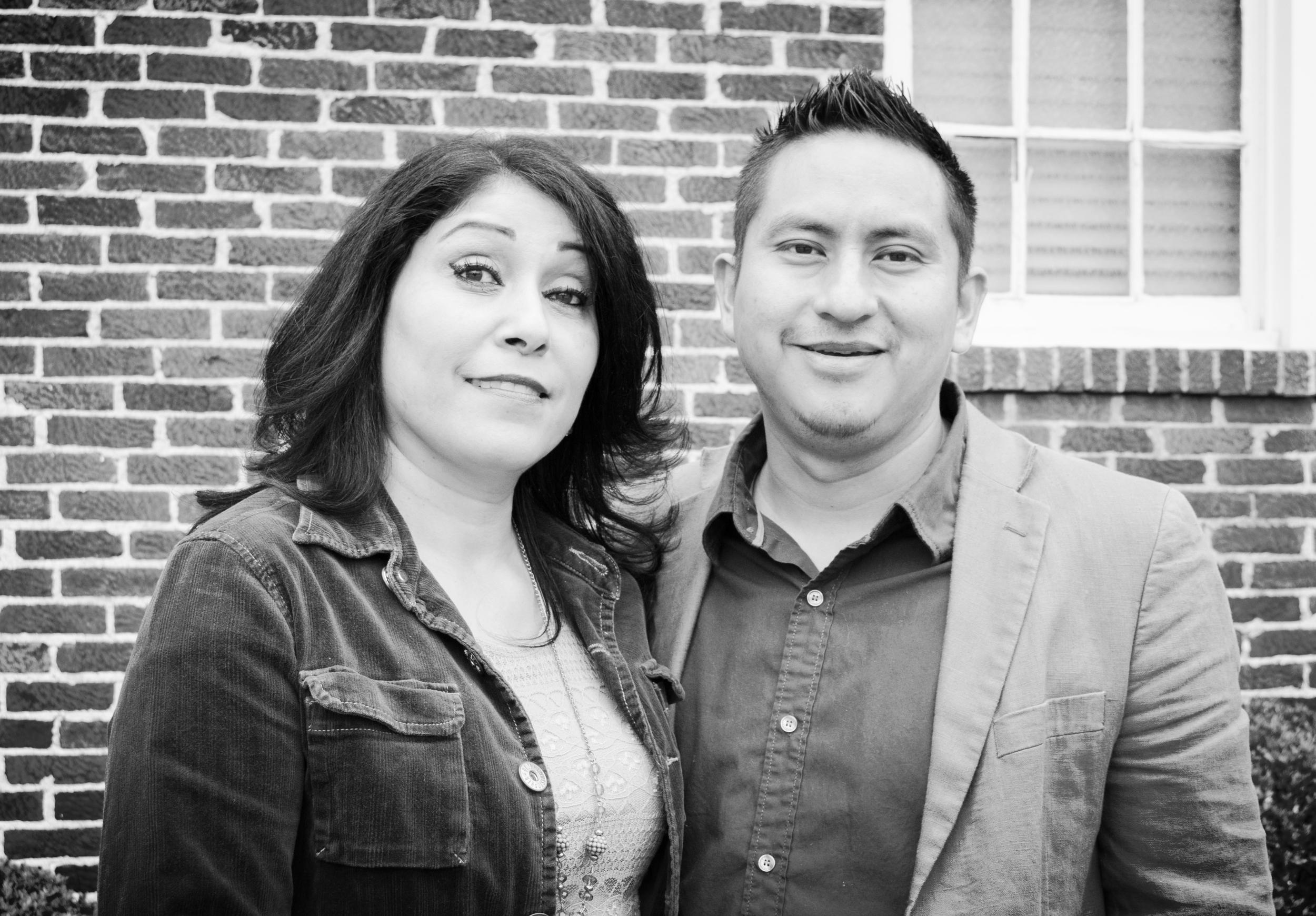 Pastores Carlos y Lucy Gabriel