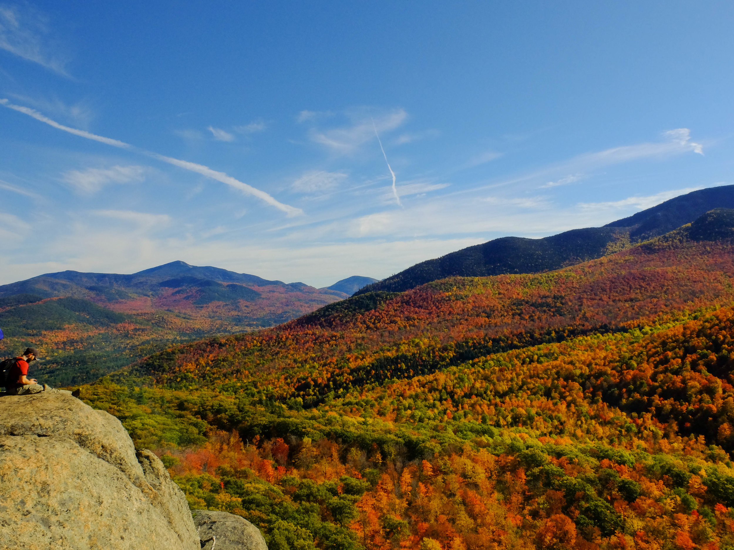 October - Incredible foliage at Owl's Head Mountain in New York