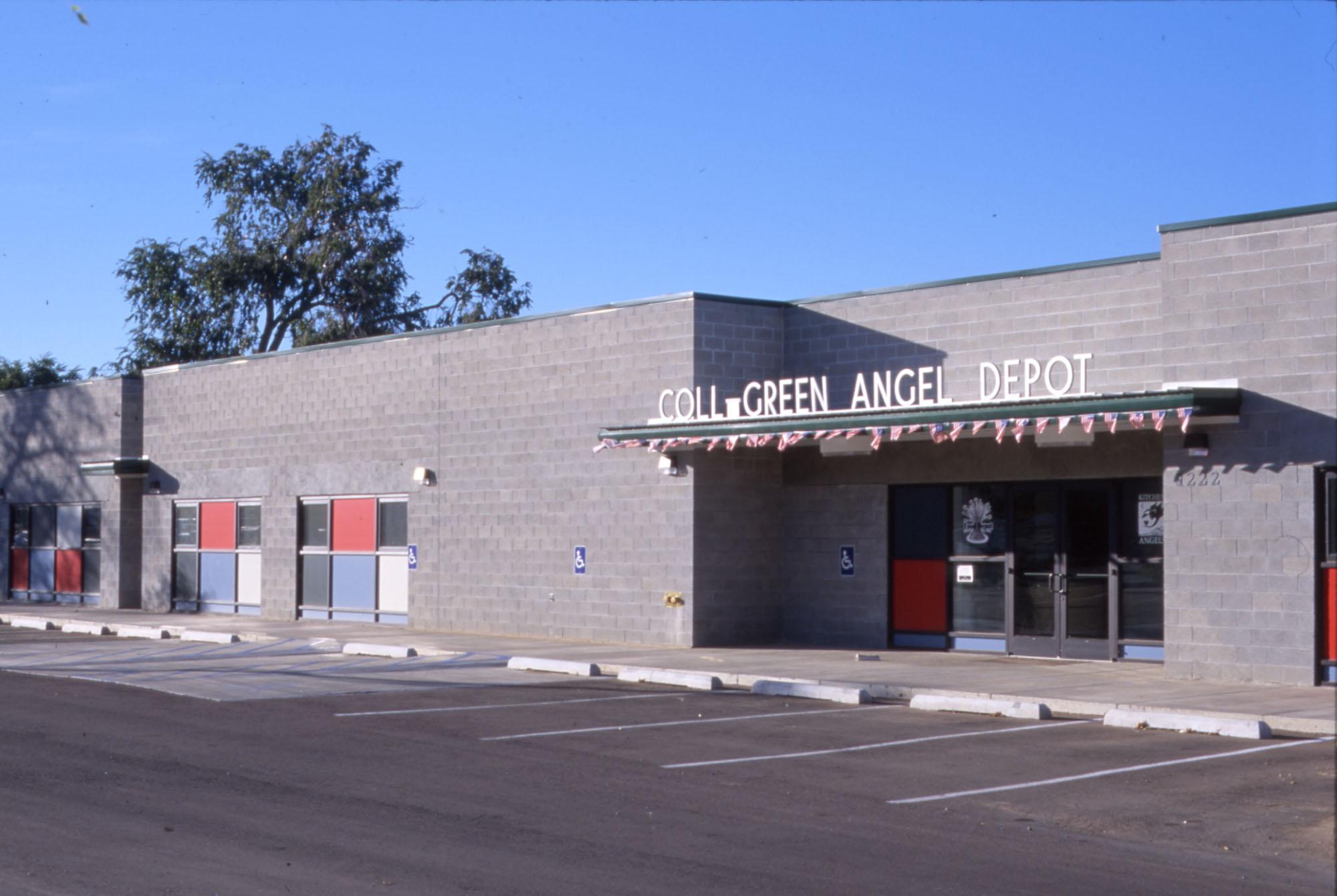 Coll Green Angel Depot - view from parking lot.jpg