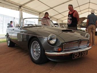 New MGB roadster launched at show
