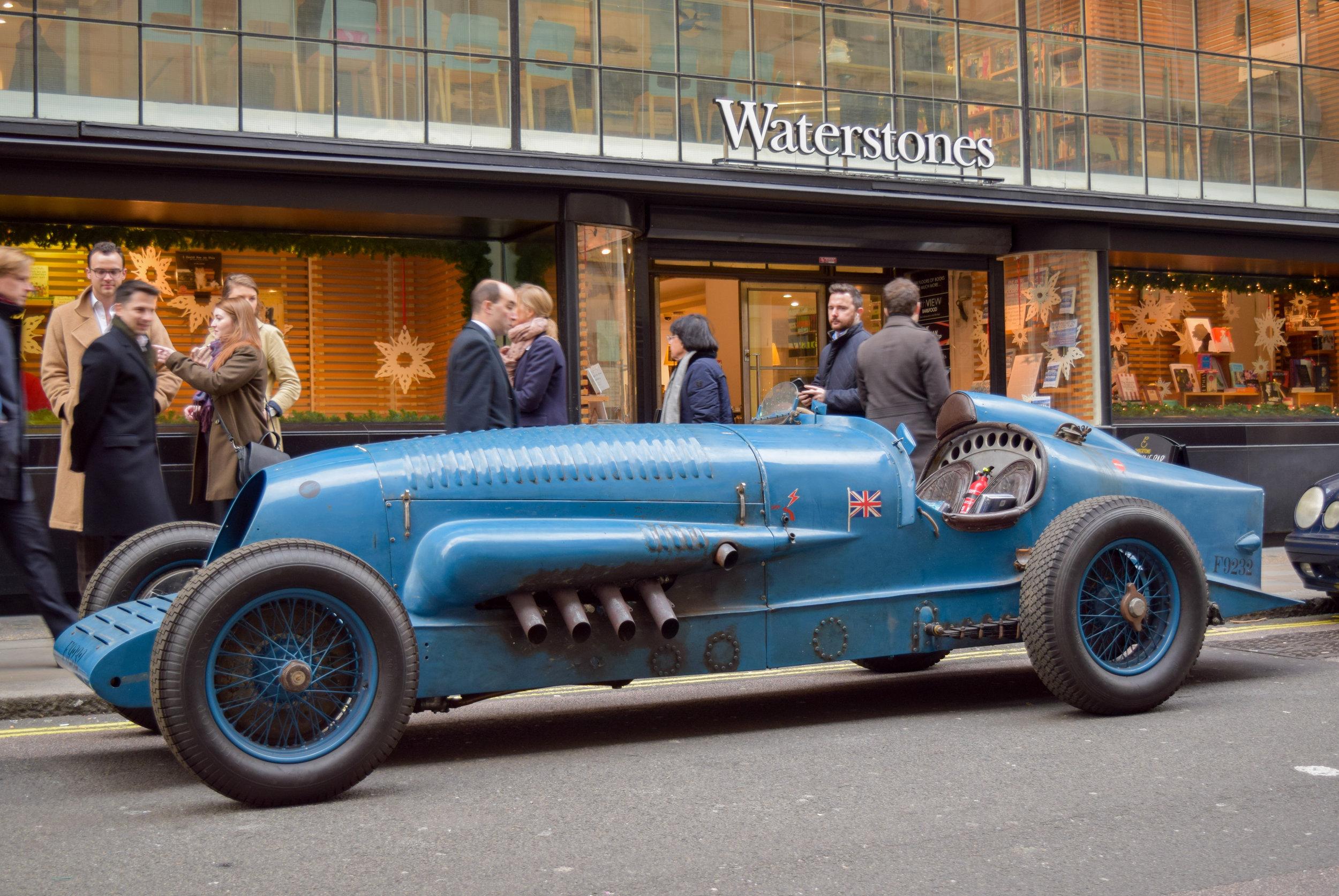 1927 Napier-Campbell Bluebird Replica