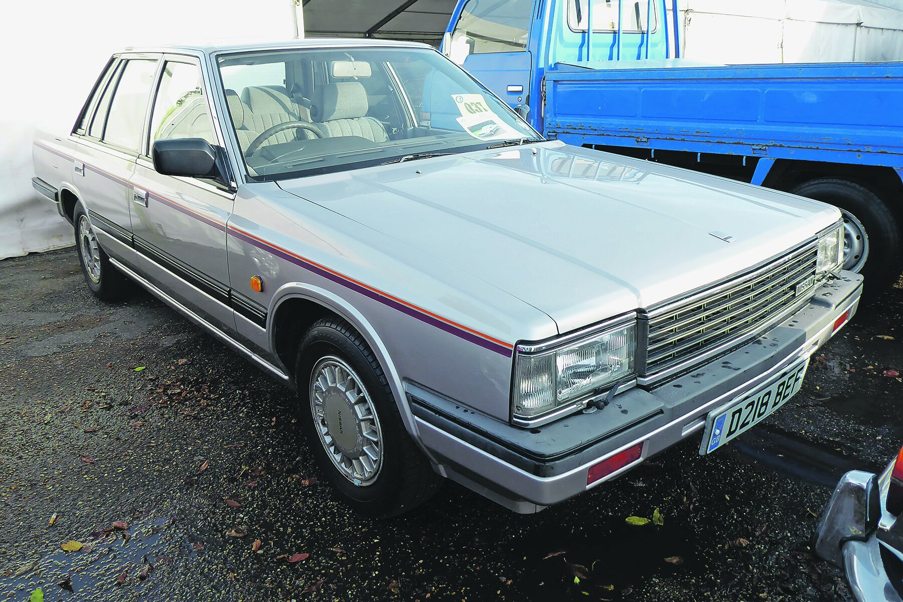 nissan laurel 1987 well bought at auction classic cars for sale nissan laurel 1987 well bought at