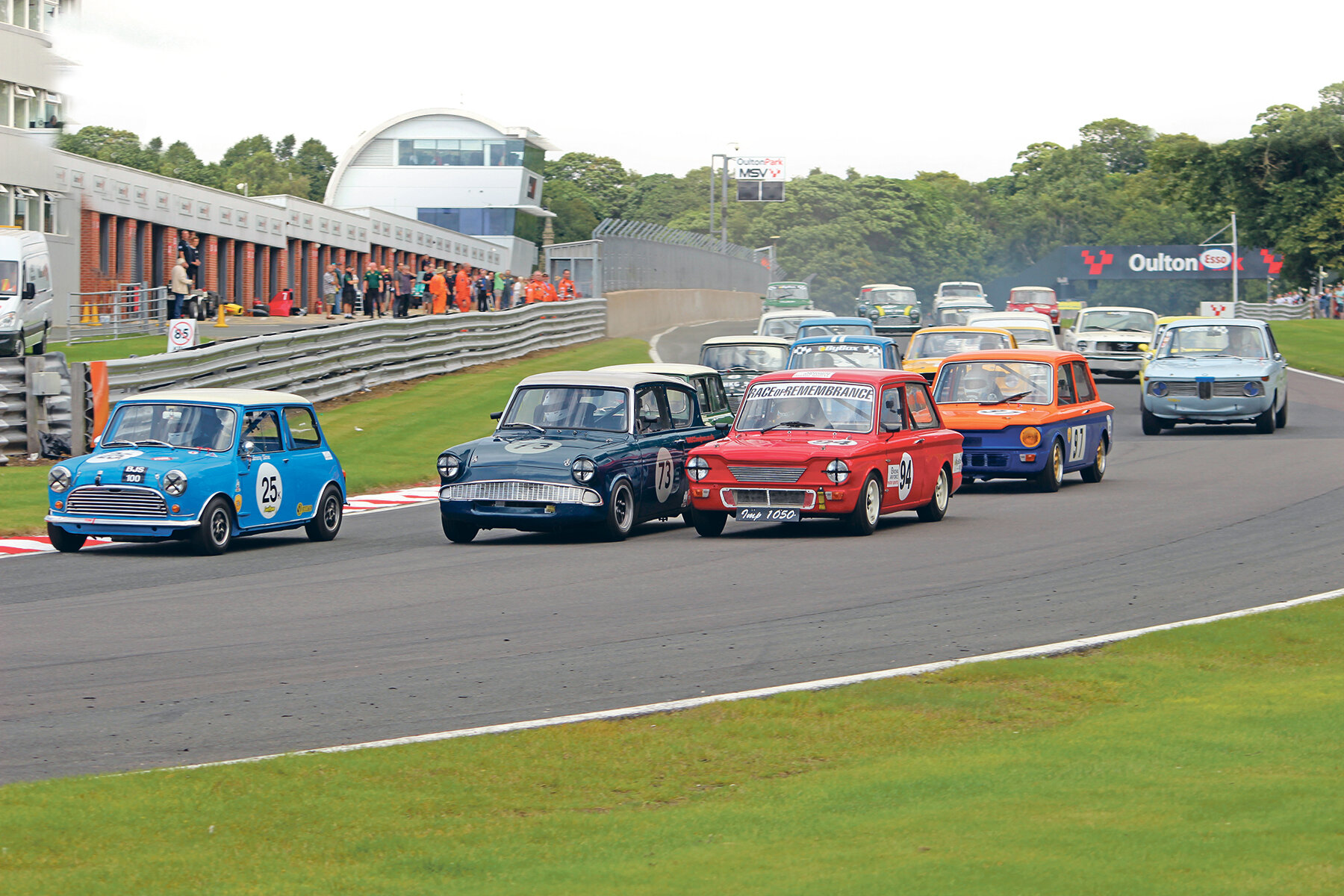 The Gold Cup's nail-biting races have long brought classic fans to Oulton Park, but now you'll be able to bid on cars at the event, too.