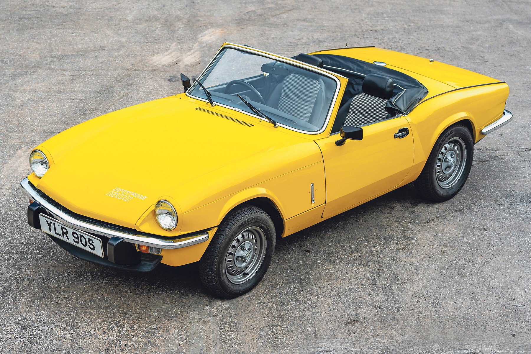 Cars consigned to the 10th anniversary sale include this 9000-mile 1978  Triumph Spitfire .