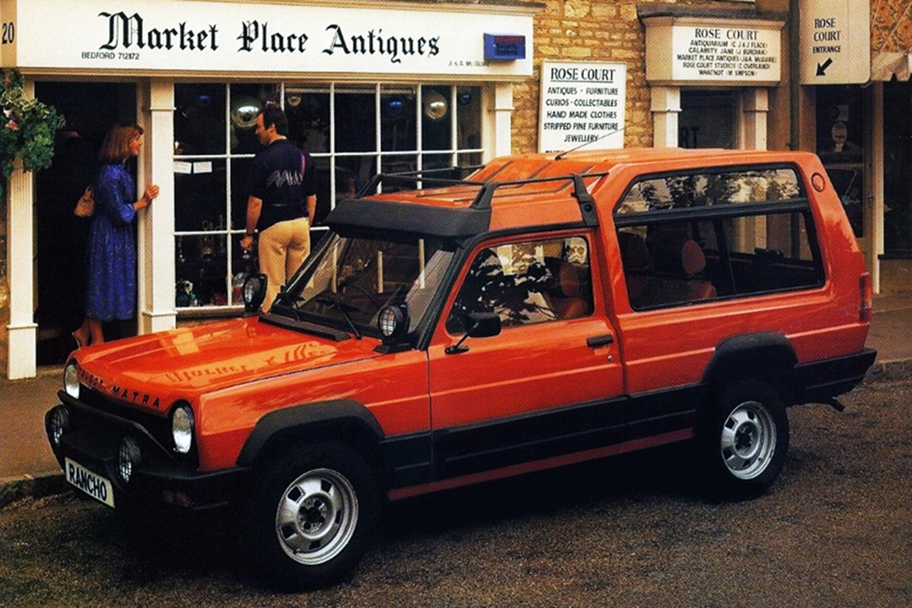 People knock the Rancho, but it sold well when new, and was seen in the smartest places