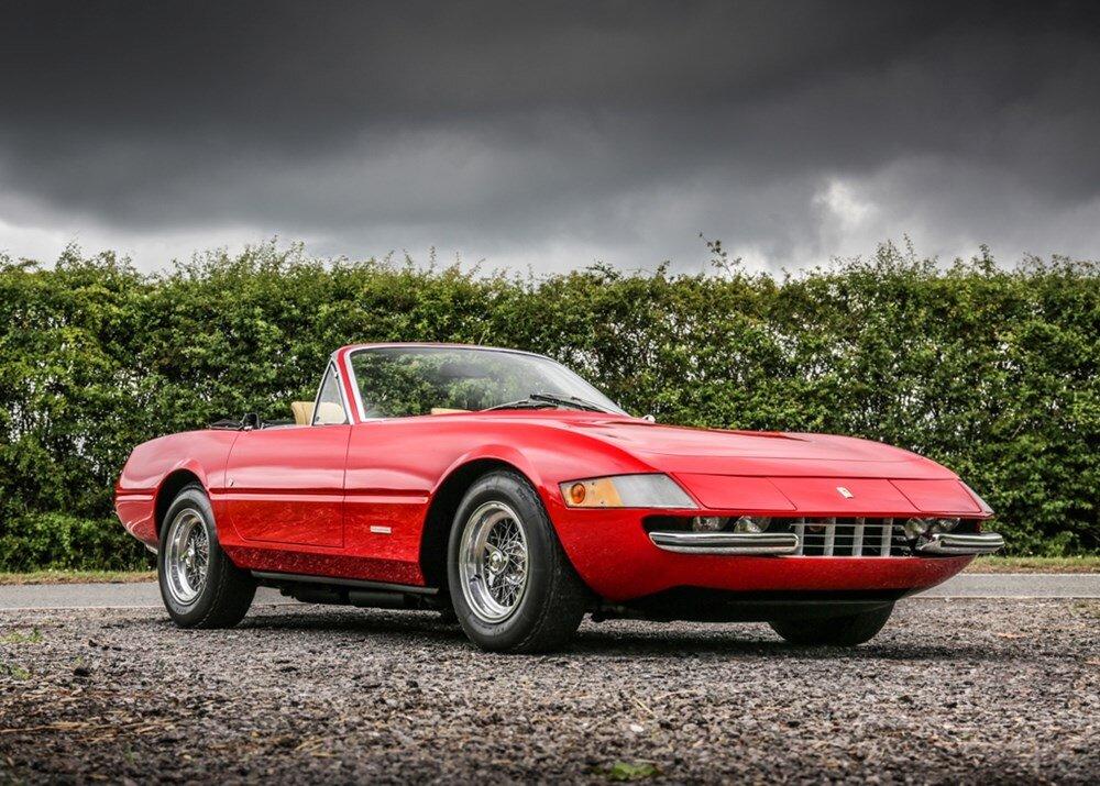 One-off Ferrari Daytona Spider estimated at £580,000-£670,000