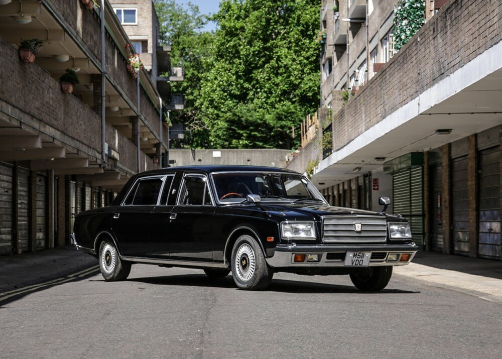 Would you bid on this Toyota Century for £13,000-£17,000?