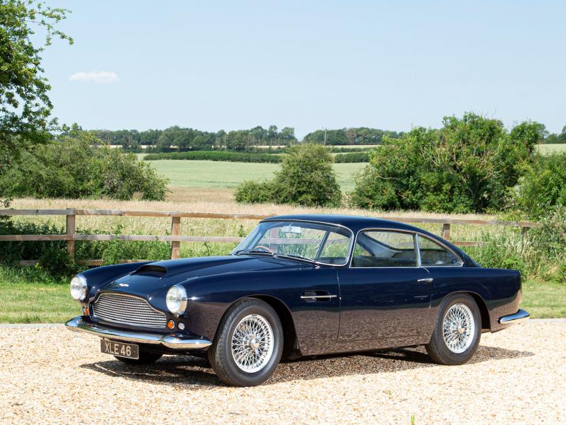 Aston Martin DB4 heads Bonhams' Goodwood Speedweek sale in October 2020