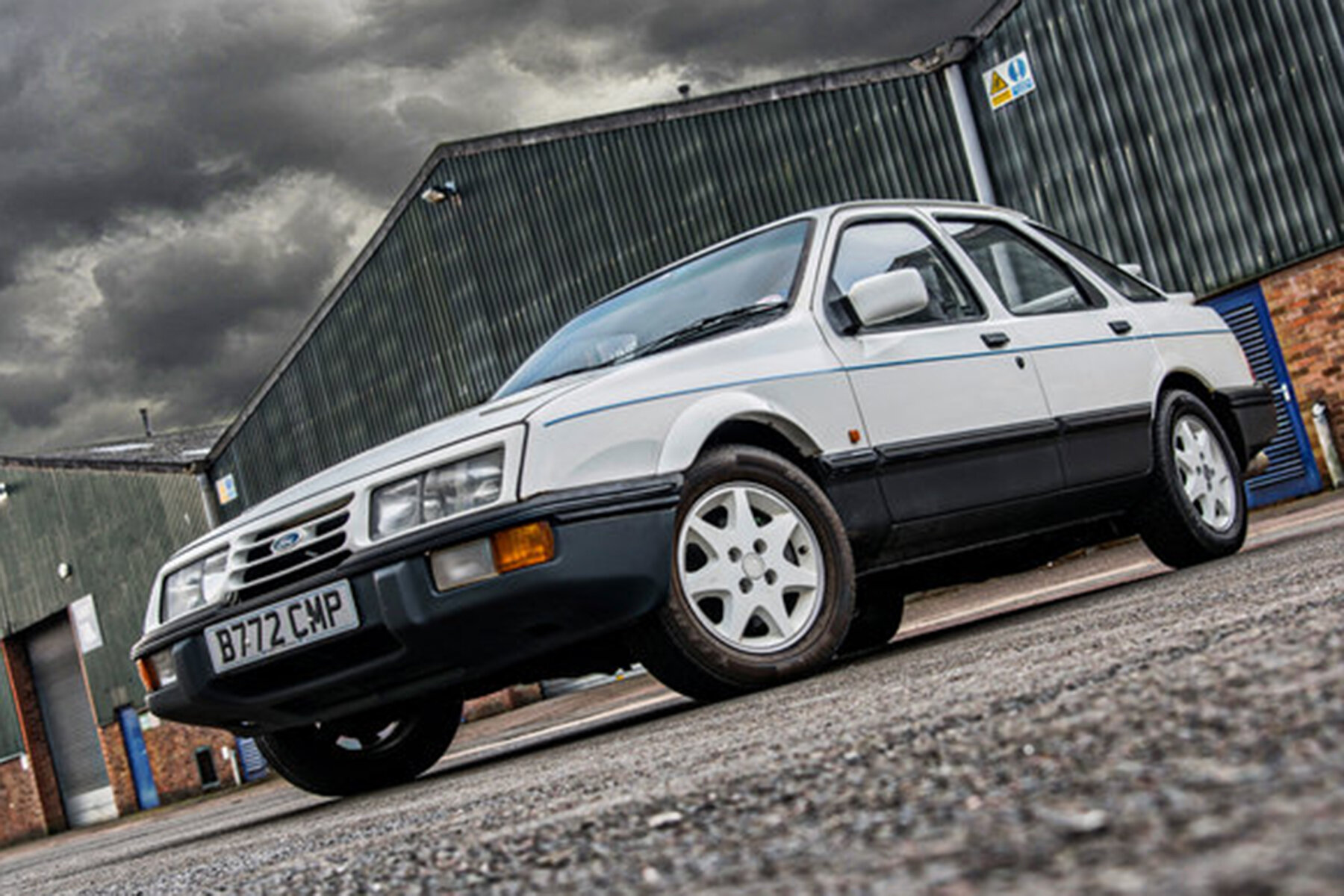 The Q-Car that'll bite back if manhandled – the Ford Sierra XR8
