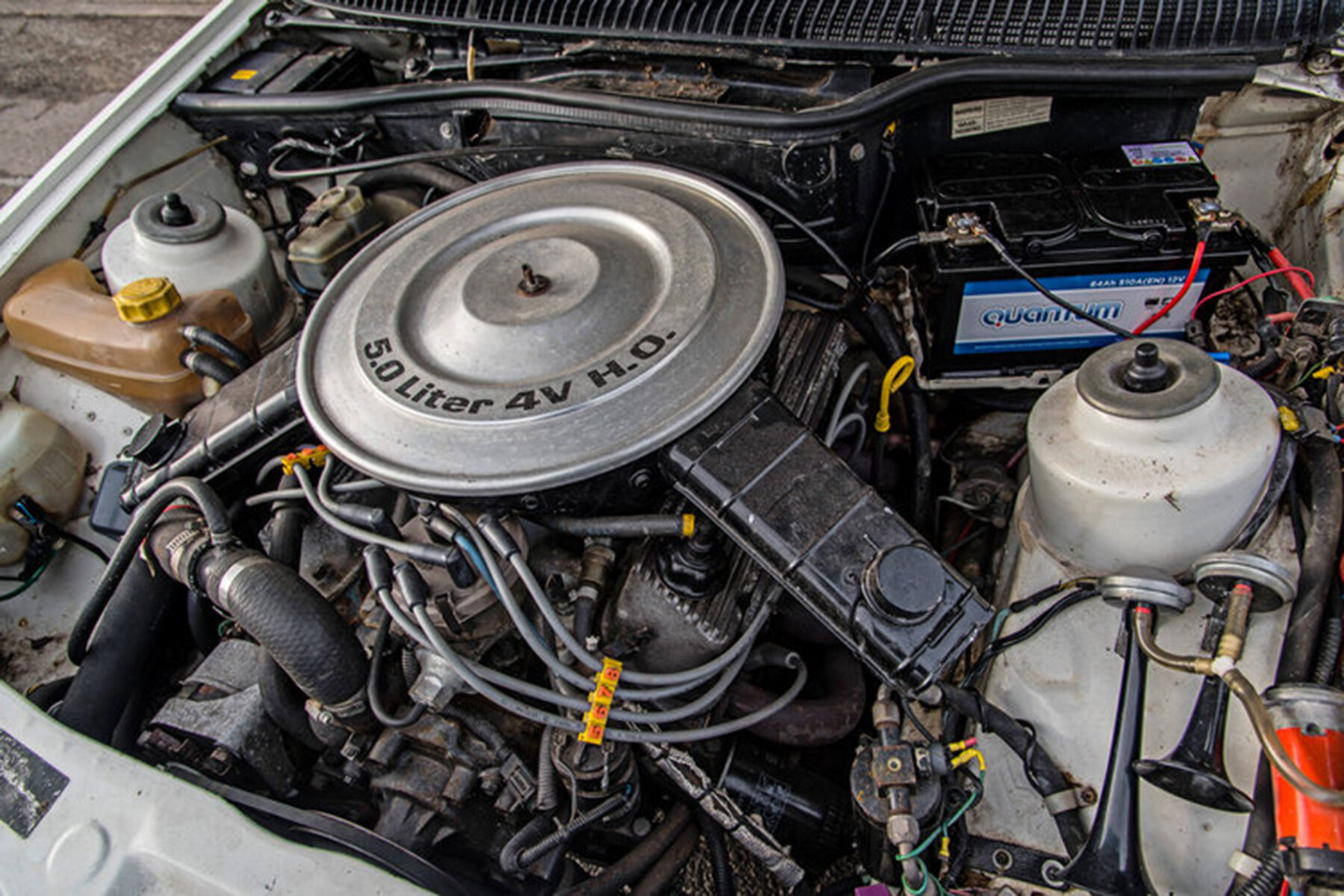 Ford Sierra XR8 is powered by a 5.0-litre Mustang V8.