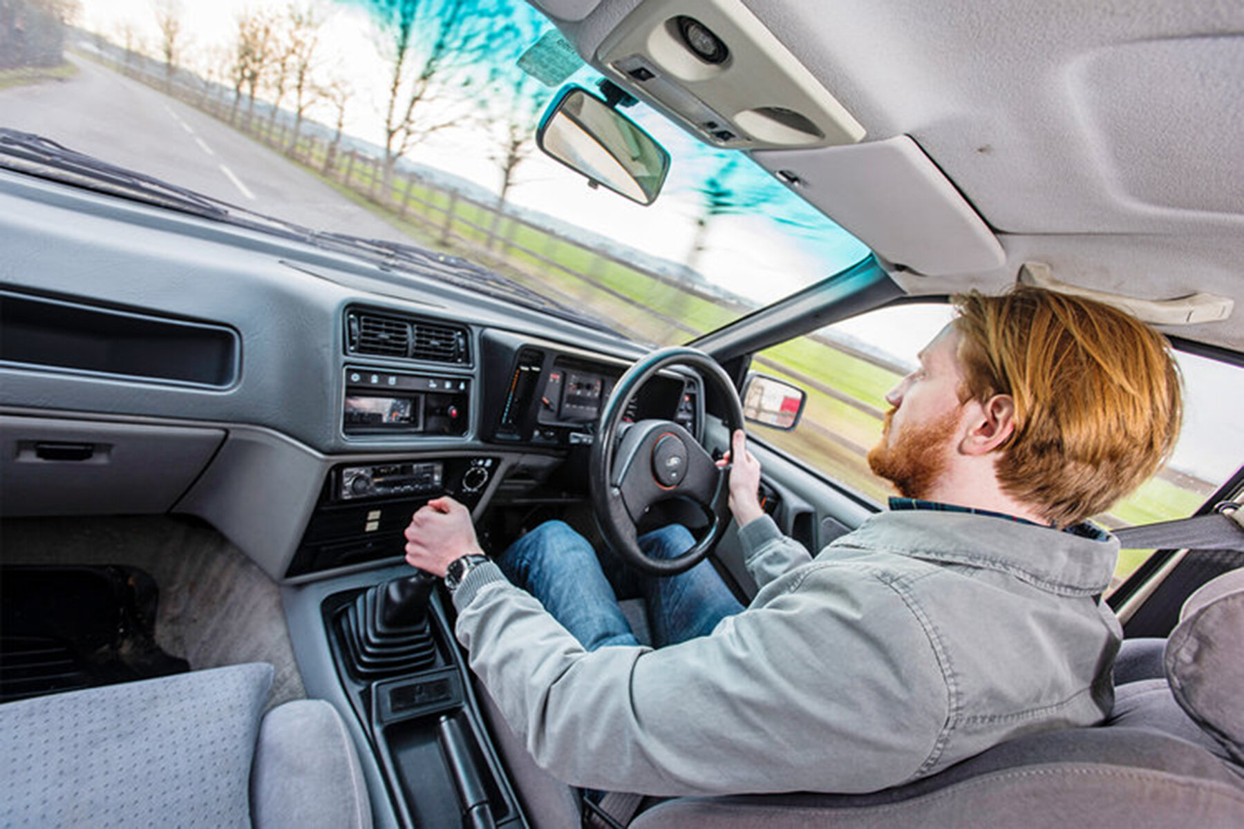 Driving the Ford Sierra XR8