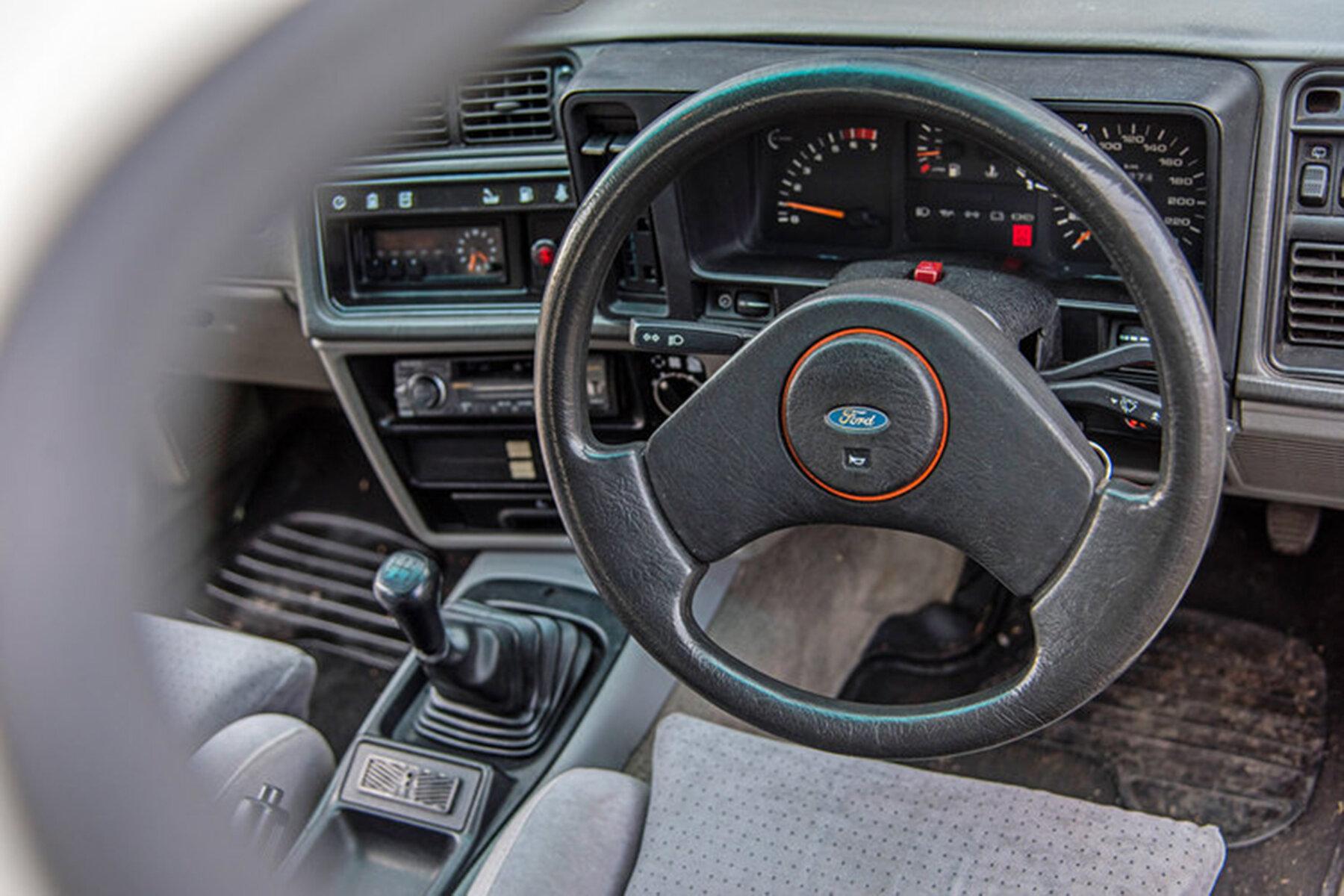 Ford Sierra XR8 gets standard issue interior