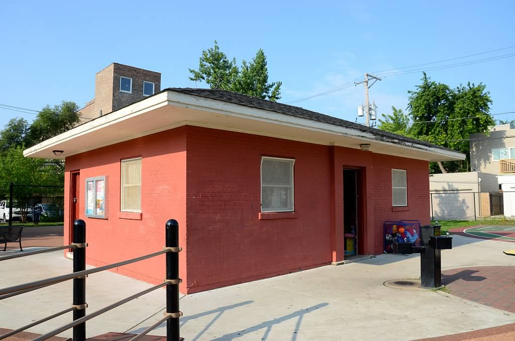 This 600 square foot building serves as a place for children's classes, community events, and Chicago Park District offices for staff. The building dates to the 1950's and is in need of many upgrades. What was the last thing you or your family outgrew? How did it feel? What did you do?