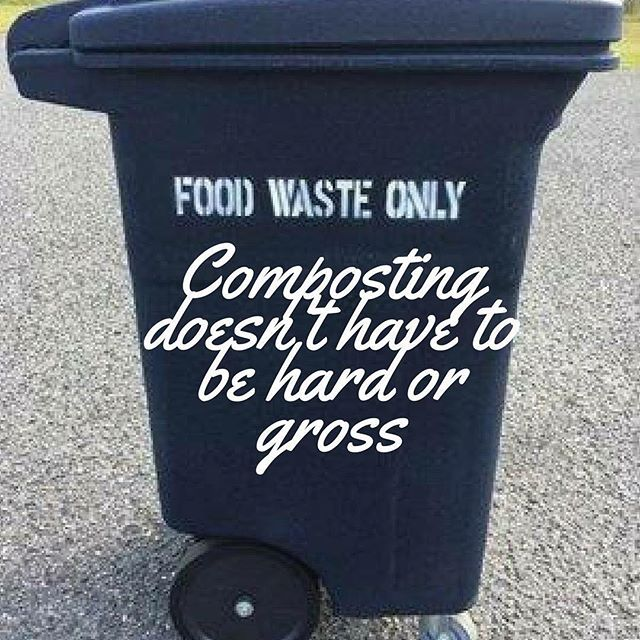 The bins and compostable bags we use to service food waste are just like the ones that are used to throw out trash. Do you want to reduce your overall waste going to the landfill? Give compost a chance!  #greenovergarbage #sustainable #compostchampions #talkintrash #trashisfortossers