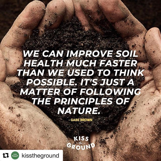 #Repost @kisstheground ・・・ Check these guys out to find educational material on healthy soils and composting! #mothernature #healthysoil #nutrientrecyclers #growfoodnotlandfills