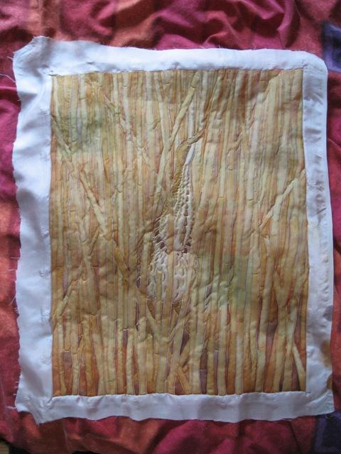 Ironed silk