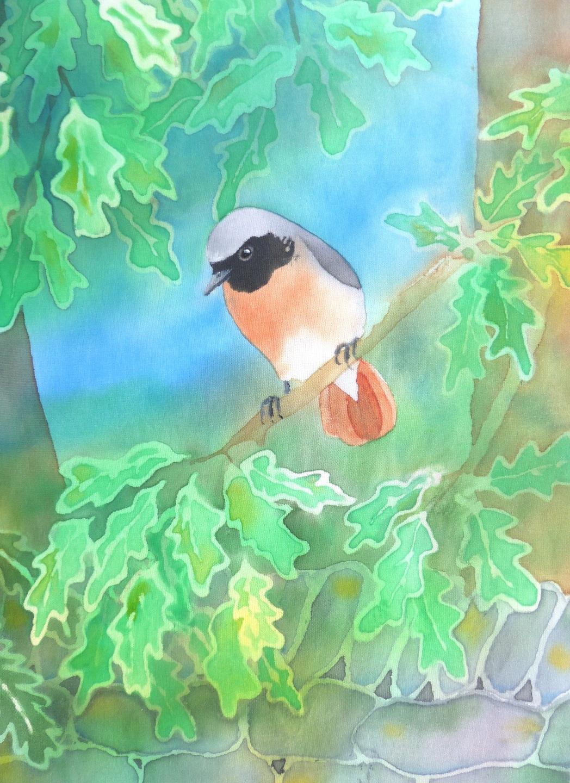 Redstart Greeting Card