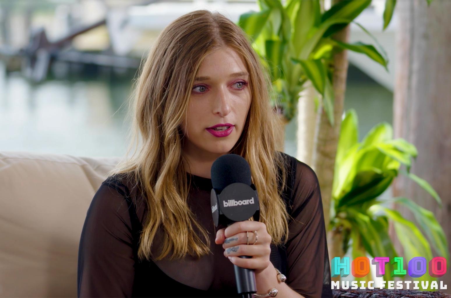 VÉRITÉ Billboard Hot 100 Festival Interview