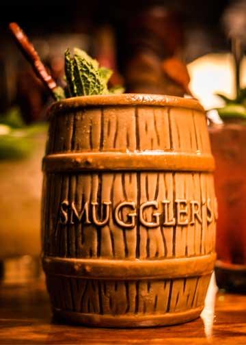 Smuggler's Cove Rum Barrel