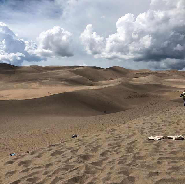 Next stop was taking my angels to the Great Sand Dunes National Park. #emptynestingmom #emptynester #photographer #mykidsrock #Godsbeautifulcreation #greatsanddunes #greatsanddunesnationalpark #rvlife